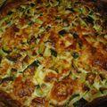 Tarte courgettes surimi