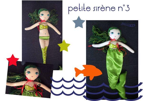 sirène verte