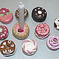 porte-bougies d'anniversaire