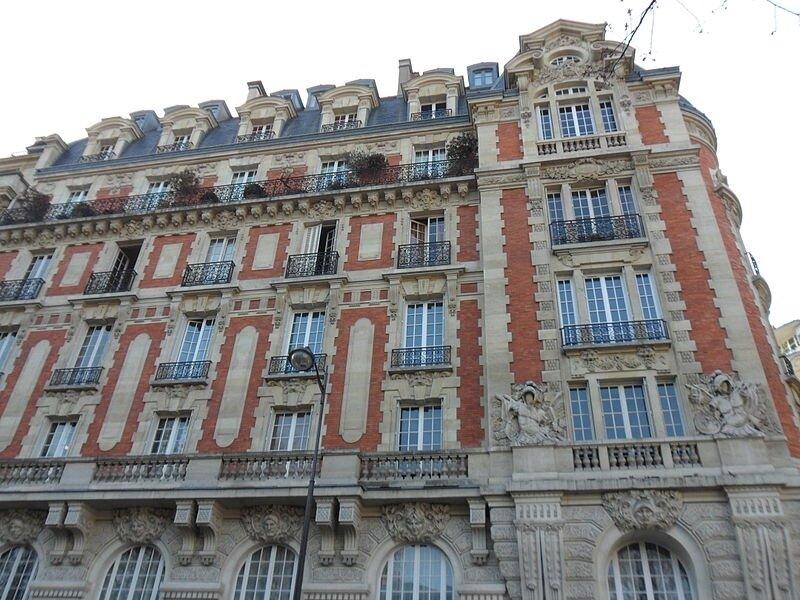 Façade du 2 rue Guynemer, Paris 6e, Louis Périn, 1914