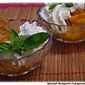 Abricots au monbazillac