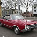 OLDSMOBILE Cutlass 2door convertible 1965 Strasbourg (1)