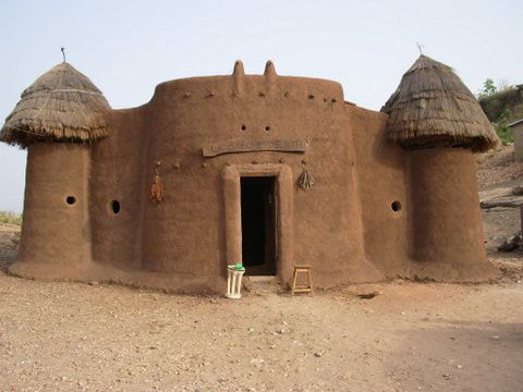 African Architecture Of The Ashanti Very Particular