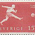 6ème coupe du monde de football : suède 1958