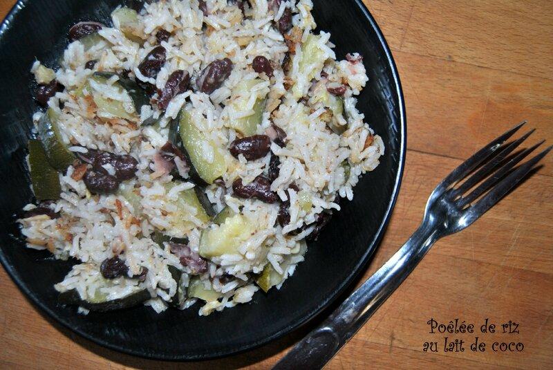 Poêlée de riz au lait de coco