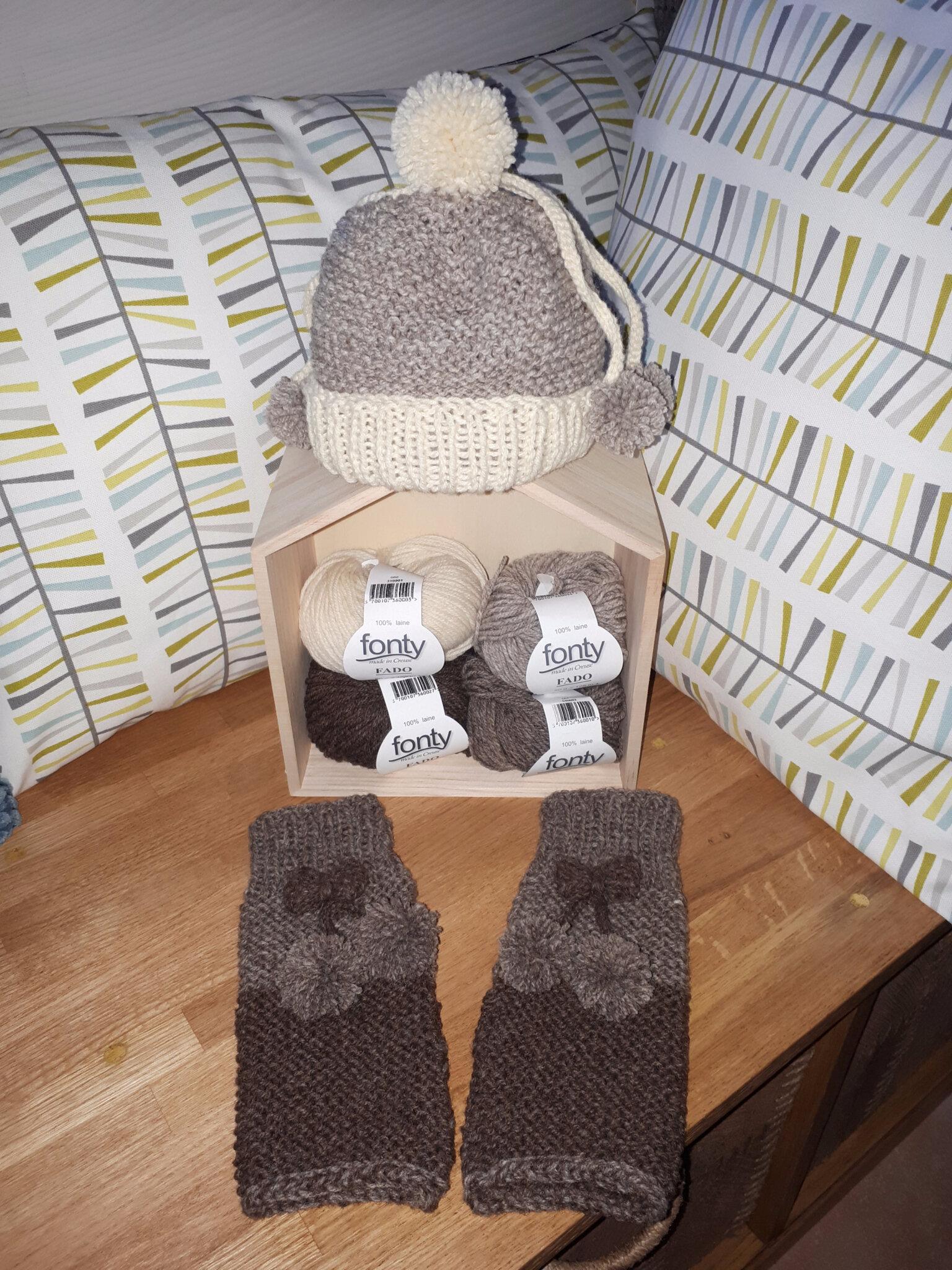 Je tricote, tu tricotes, nous tricotons... pour l'hiver et solidaire