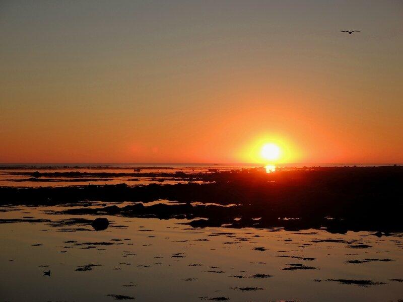 Penmarc'h, Kérity, coucher de soleil, octobre