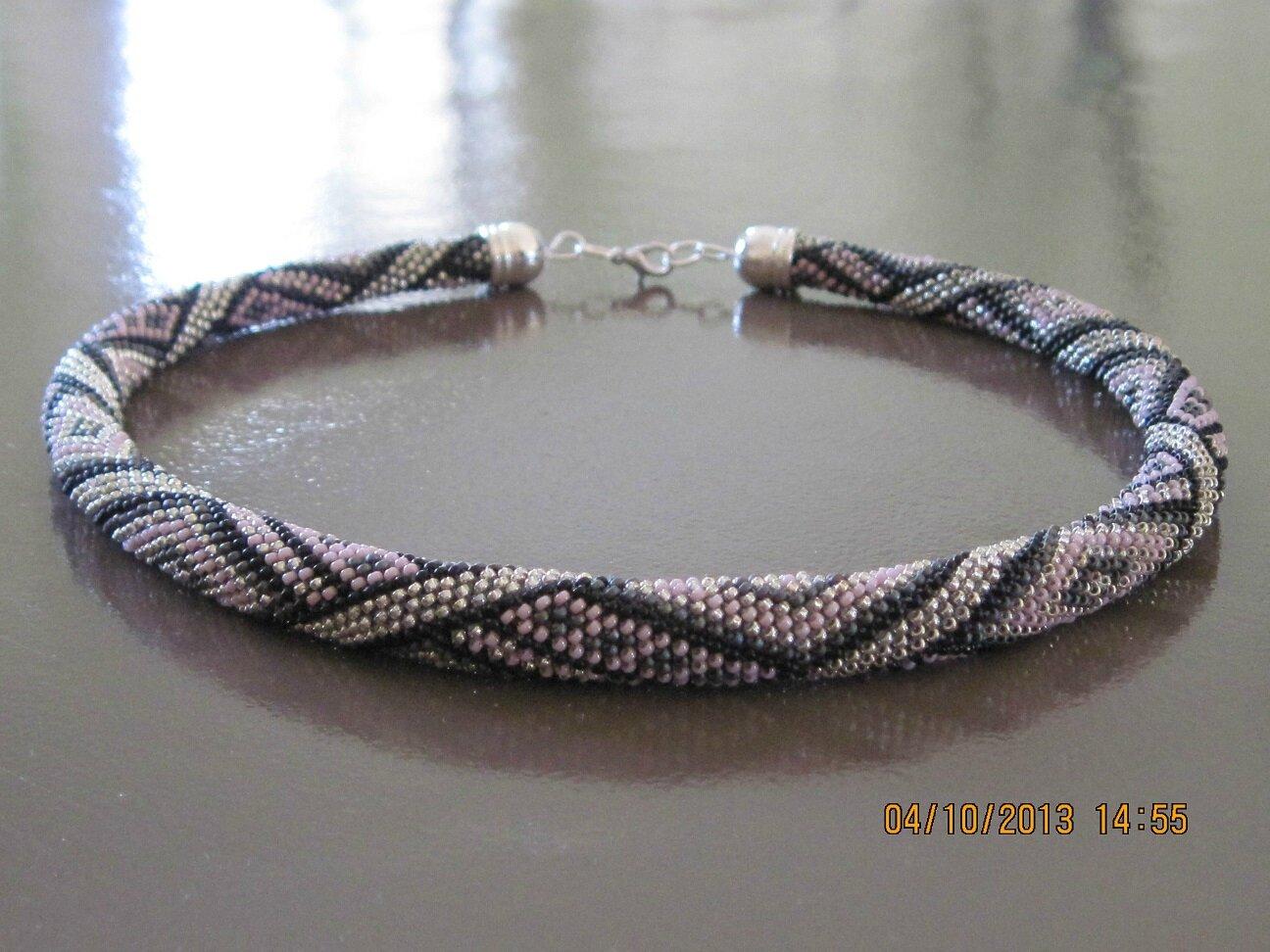 bracelet perle spirale