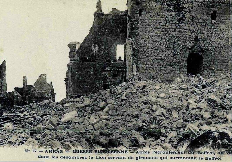 Arras Beffroi lion