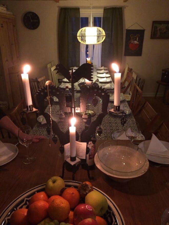 table juldagen
