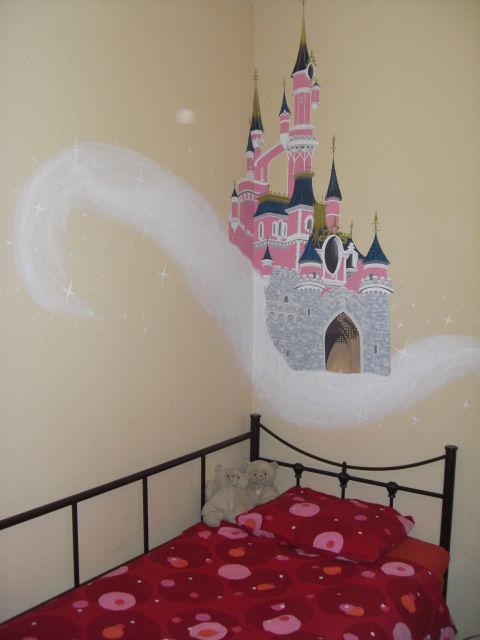 Rose oblige pour ce château!!!