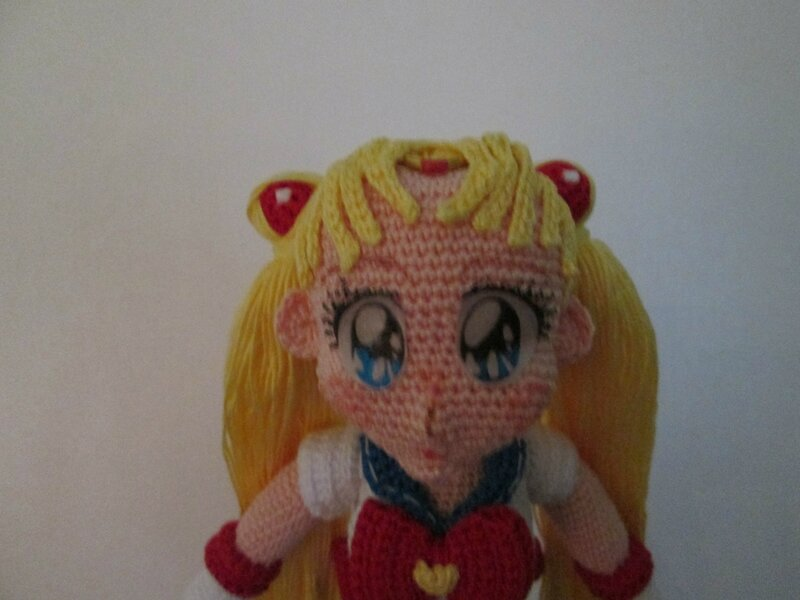 Sailor Moon tête