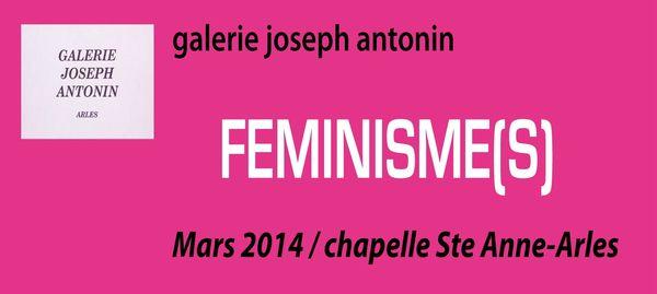 Féminismes 2014 logo