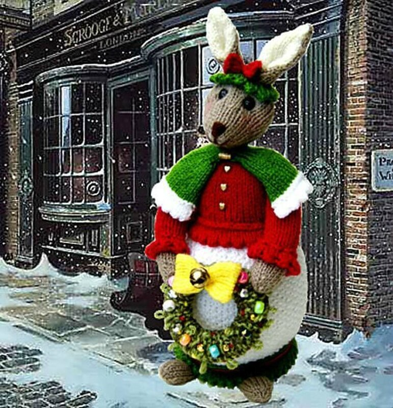 Traduction Rebecca Christmas Rabbit - Phoenixknits