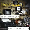 Cozy mystery & vintage books challenge 2016