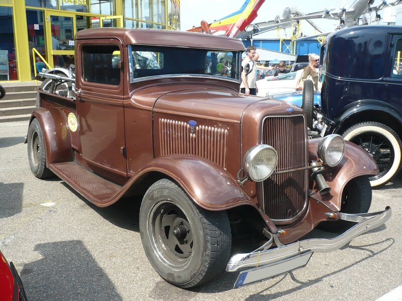 FORD Model B 2door pick-up 1934 Sinsheim (1)