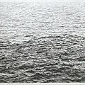 Vija celmins, drypoint—ocean surface (between first and second state), 1985