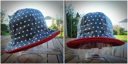 Chapeau pluie Céline