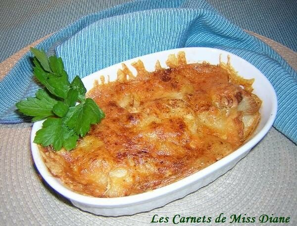 Pommes de terre au cheddar