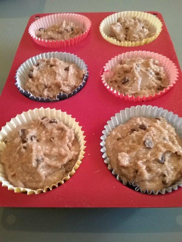 Petits gâteaux aux pépites de chocolat 081