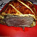 Beef wellington de gordon ramsay