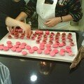 Fourrage macarons tapenade tomate cerise