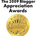2009 blogger appreciation award?