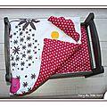 IMG_5690-linge-de-lit-parure-poupee-enfant-bebe-fait-main-etoile-rose-fuchsia-reversible-dehoussable-fleur-orange-blanc-jaune-nuage-couette-oreiller-drap-matelas-mary-du-pole-nord