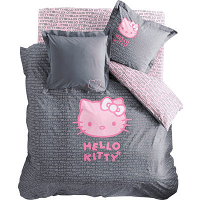 Housse de couette hello kitty photo de my wish list for Housse de voiture hello kitty