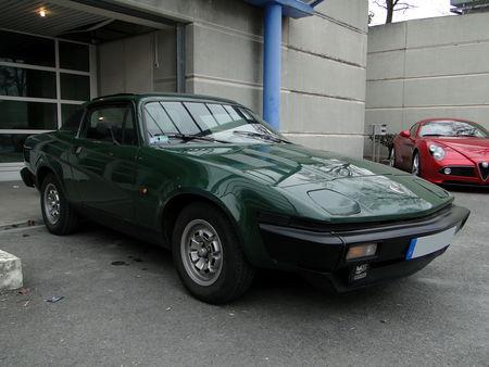 TRIUMPH TR7 Coupe 1975 1981 Salon Champenois du Vehicule de Collection de Reims 2010 1