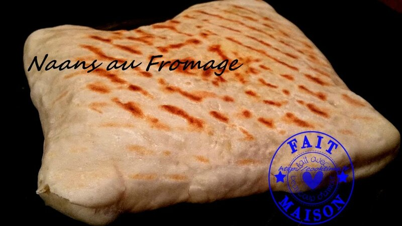 Naans au fromage 5