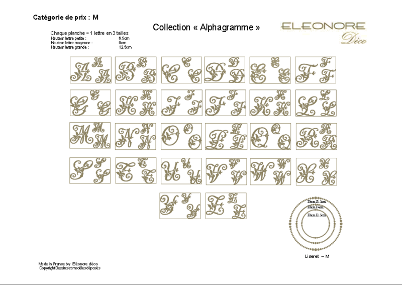 COLLECTION ALPHAGRAMME