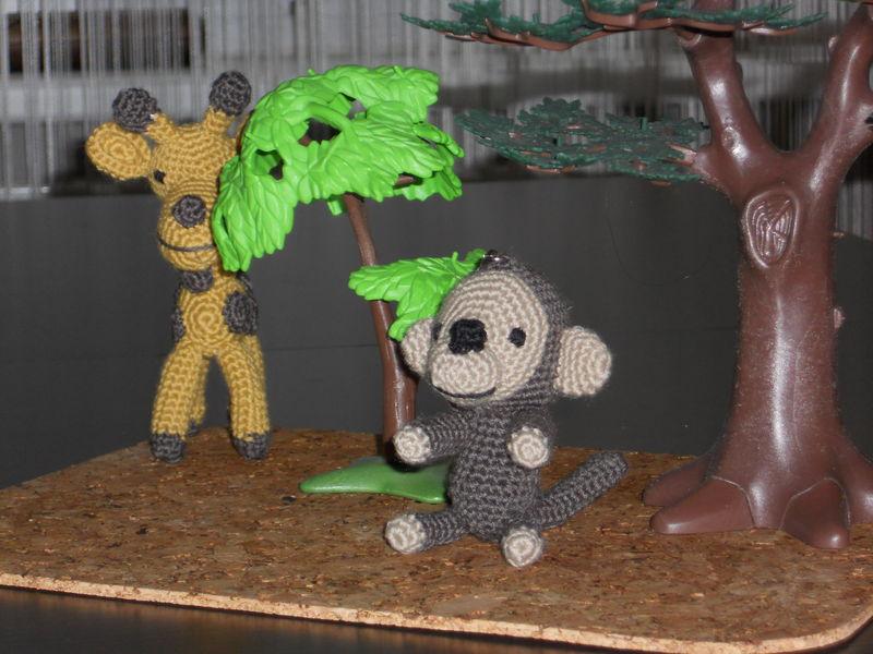 Sophie la grirafe et Balouba le singe