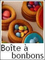 Boîte à bonbons en biscuit - index