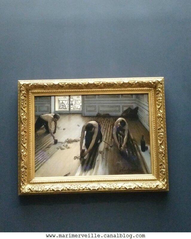 Gustave Caillebotte - les raboteurs de parquet 1875 -Musée d'orsay - Marimerveille