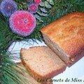 Gâteau aux épices et au gingembre confit, sans gluten