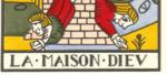 Maison Dieu du Dodal Lyon 1701-1715 - partie basse de la carte -