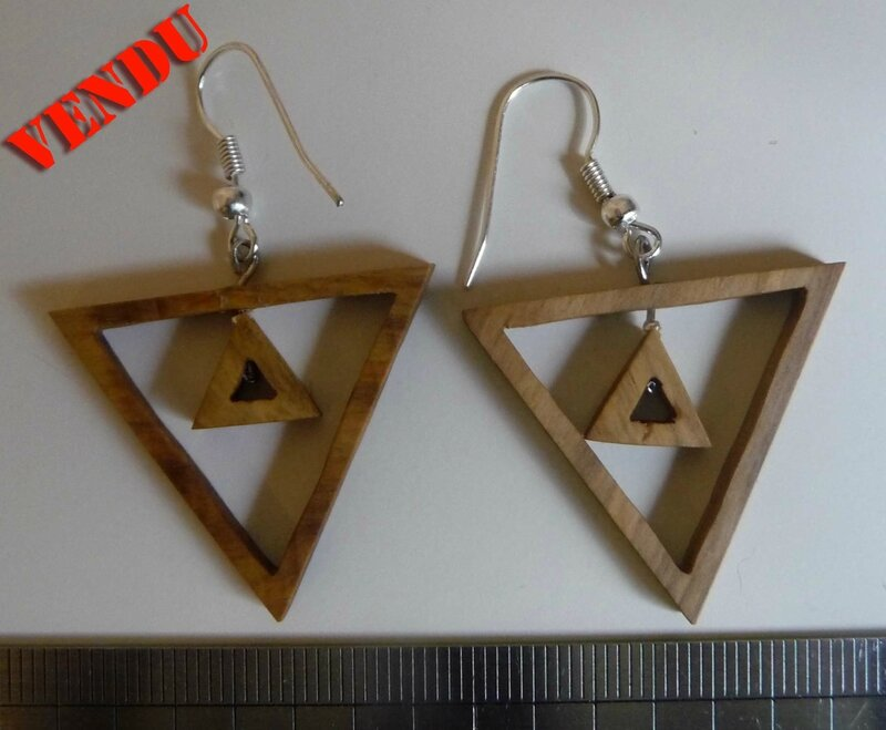 boucles Triangles inverses