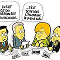 Le sommet de la zone euro gène