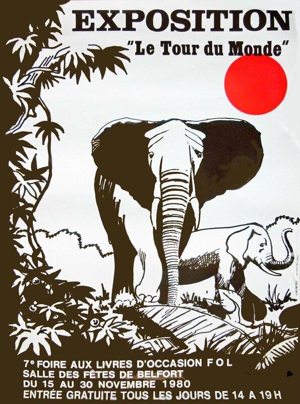 Foire aux livres 1980 Affiche FOL