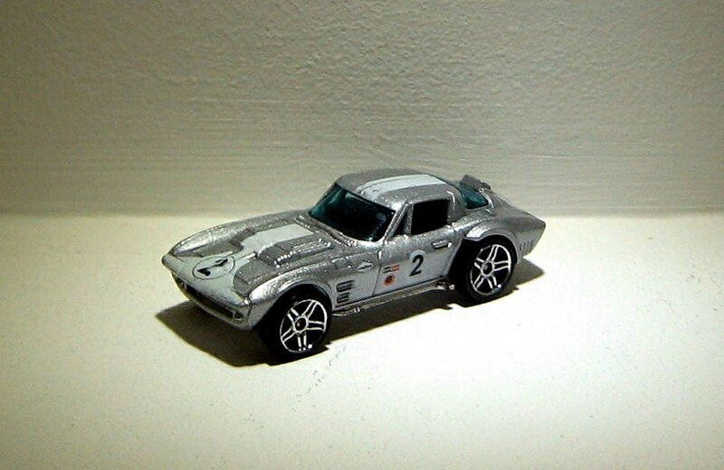 Chevrolet corvette grand sport (2008)(Hotwheels)