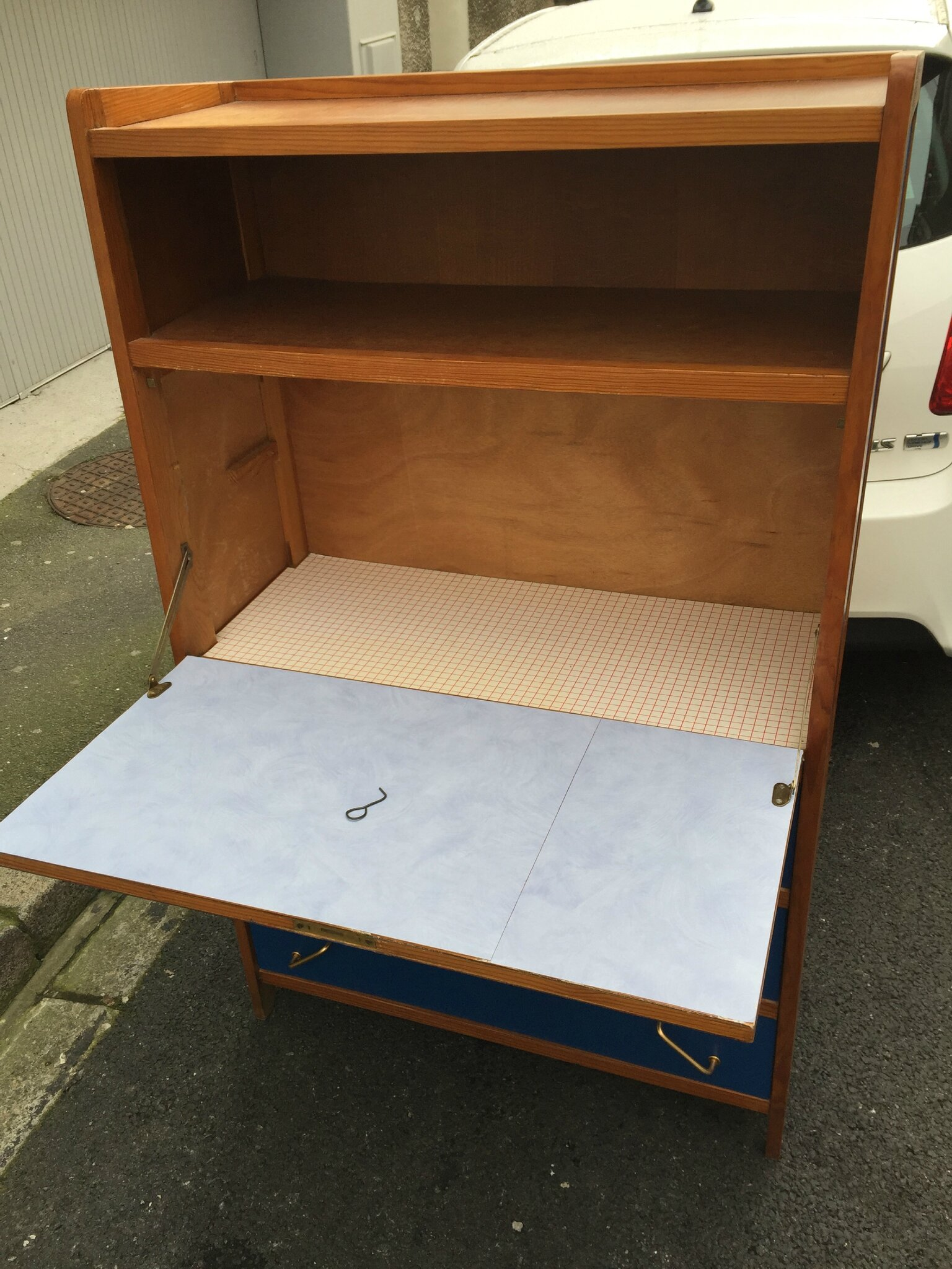 Un secr taire vintage relook indus home factory for Un secretaire meuble