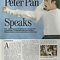 Peter pan speaks - time magazine, 22 février 1993