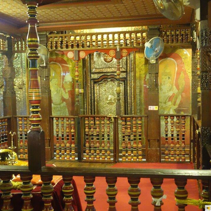 Temple de la dent de Kandy