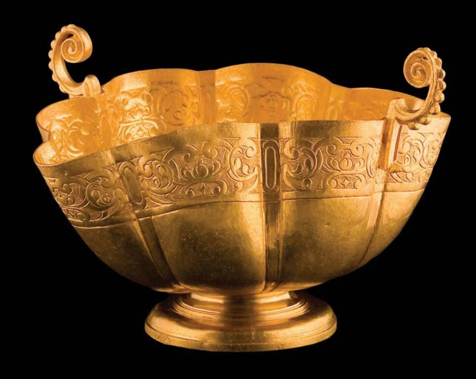 Gold Chalice, Margarita Shipwreck, 1622
