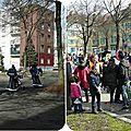Quartier drouot - belle réussite pour le carnaval des bourgeons...