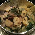 Pommes de terre et courgettes au lait de coco épicé (inde)