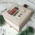 Boîte de Noël L'Atelier de Framboise Chocolat