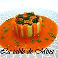 Chartreuse au lapin et foie gras