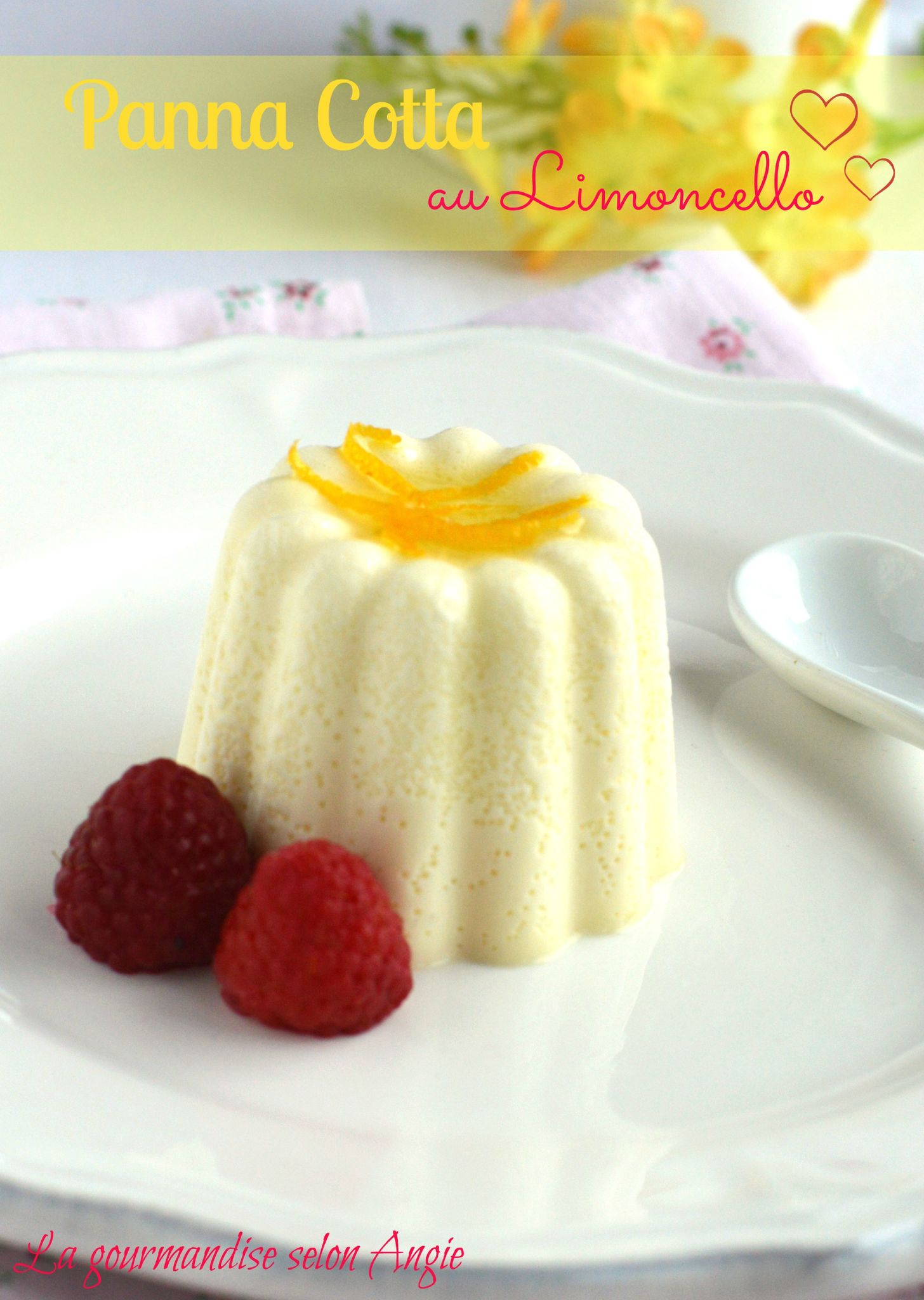 Limoncello Panna Cotta Recipe — Dishmaps